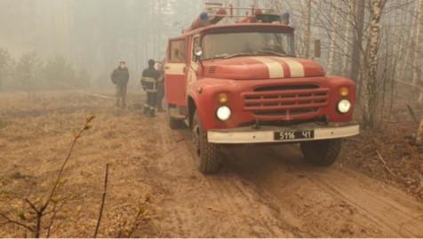 Camion de pompier ukrainien