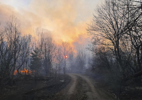 Incendies Région Tchernobyl
