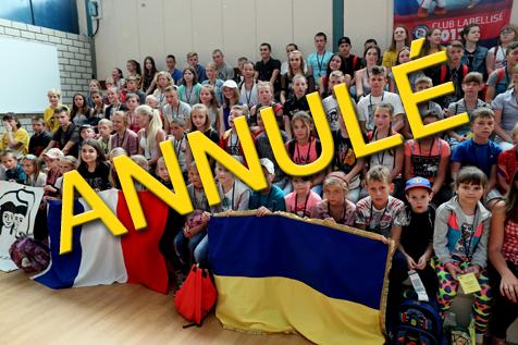 Annulation de l'accueil ukrainien