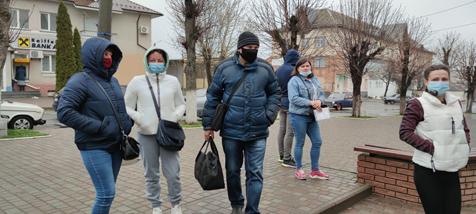 Photo Opération aide alimentaire avril 2021 en Ukraine