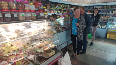 Opération aide alimentaire avril 2021 à Narodytchi en Ukraine