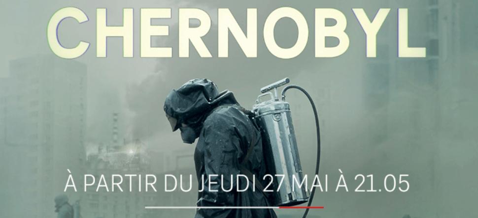 Affiche de la minisérie Tchernobyl