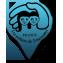 Marqueur bleu point de vente permanents