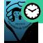 Marqueur bleu point de vente ponctuel