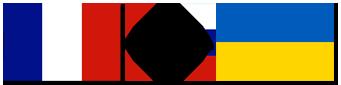 Drapeaux Français - Ukrainien