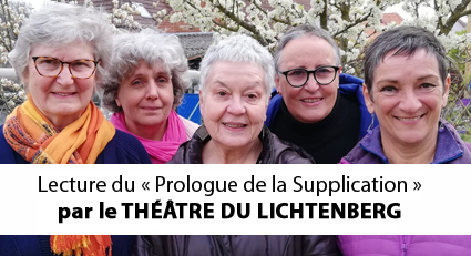 La troupe du Théâtre du Lichtenberg
