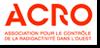 Logo de l'Association pour le Contrôle de la Radioactivité de l'Ouest