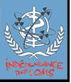 Logo du collectif pour l'indépendance de l'OMS