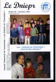 Couverture du Днепр N°52 - ноябрь 2009