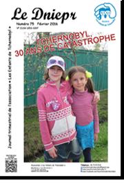 Couverture du Dniepr N°75 - Février 2016
