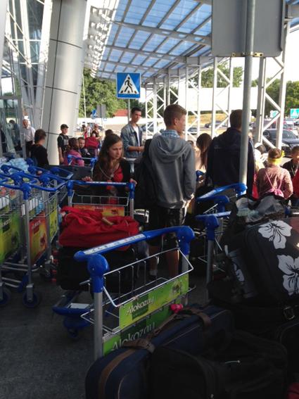 Photo arrivée à l'aéroport de Memmingen N°3