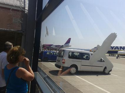 Photo arrivée à l'aéroport de Memmingen N°1