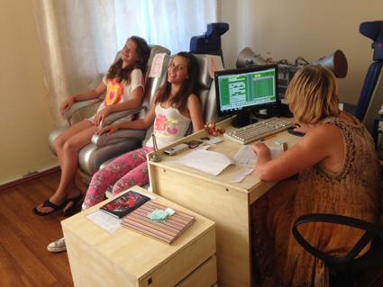 Photo des mesures des enfants à l'Académie des Sciences de Kiev N°1