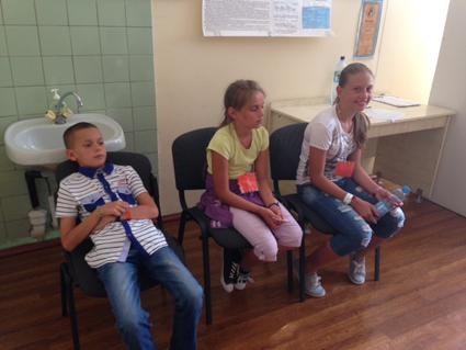 Photo des mesures des enfants à l'Académie des Sciences de Kiev N°2