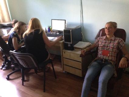 Photo des mesures des enfants à l'Académie des Sciences de Kiev N°3