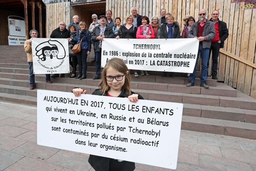 Rassemblement à Mulhouse en 2017