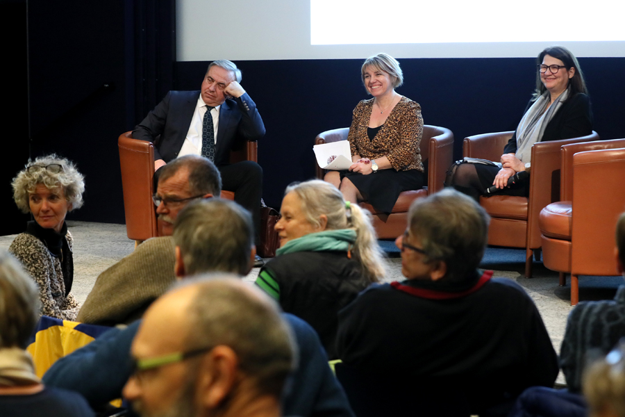 Photos Conférence Strasbourg Yuri BANDAJEVSKI