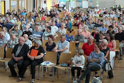 Photo des famille à la réunion de Horbourg-Wihr