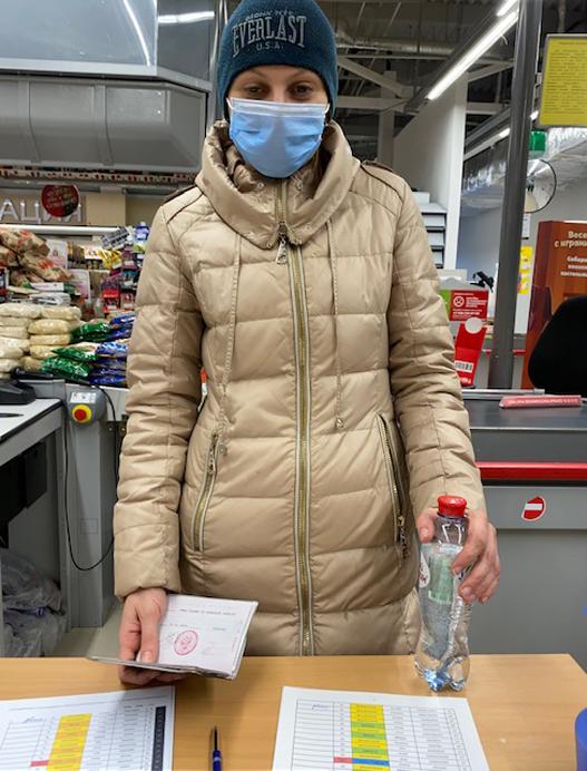 aide alimentaire à Novozybkov