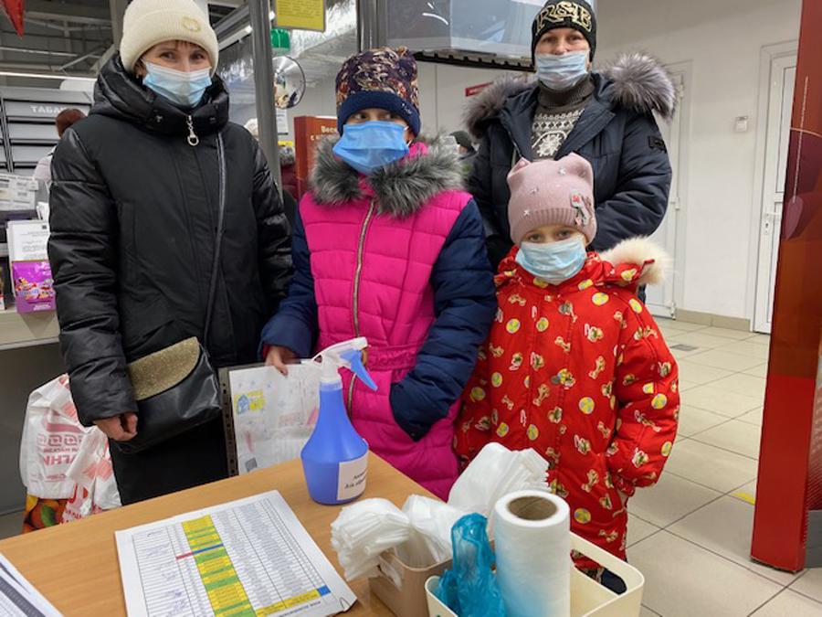 Photo Opération d'aide alimentaire Ukraine