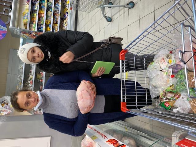 Opération aide alimentaire septembre 2021 à Novozybkov en Russie