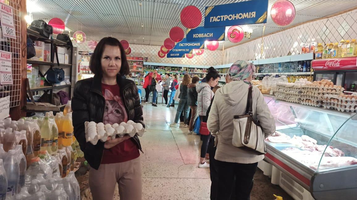 Photo Opération aide alimentaire septembre 2021 en Ukraine