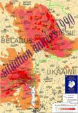 Miniature de la carte de contamination des sols en 1990