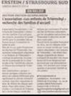 Miniature de l'article des DNA du 06 janver 2015 : L'association Les enfants de Tchernobyl recherchent des familles d'accueil