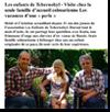 Miniature de l'article des DNA du 27 août 2015 : Visite chez la seule famille d'accueil colmarienne - Les vacances d'une « perle »