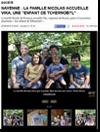 Miniature de l'Est Républicain du 25 août 2015 : Navenne : La famille Nicolas accueille Vika, une enfant de Tchernobyl
