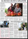 Miniature de l'article de l'Alsace du 22 août 2015 : Les derniers nés de la radioactivité