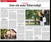 Miniature de l'article de l'Alsace, page R�gion, du 23 ao�t 2015 : Une vie avec tchernobyl