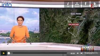 Miniature du reportage de France TV info du 21 août 2015