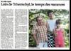 Miniature de l'article de l'Est Républicain - Rubrique Vy-lès-Lures - Loin de Tchernobyl, le temps des vacances