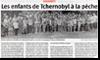 Miniature de l'article de l'Alsace du 16 juillet 2015 : Les enfants de Tchernobyl � la p�che
