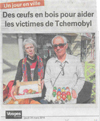 Miniature de Vosges Matin du 24 mars 2016 : Des oeufs en bois pour aider les victimes de Tchernobyl