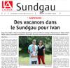 Lien vers l'article de presse de l'Alsace du 23 août 2016 - Page Sundgau