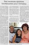 Lien vers l'article de presse de Vosges Matin du 21 Juillet 2016