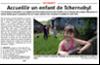 Miniature de l'article de l'Alsace du 24 février 2016 : Accueillir un enfant de Tchernobyl