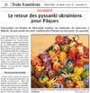 Miniature de l'article de l'Alsace / Trois frontières / Le retour des pissanki ukrainiens pour Pâques