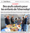 Miniature de l'article de l'Alsace / Sud Alsace / Des oeufs colorés pour les enfants de Tchernobyl