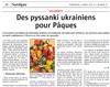 Miniature de l'article de l'Alsace / Sundgau / Des « pyssankis » ukrainiens pour Pâques