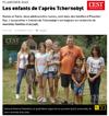 Lien vers l'article de presse de l'Est Républicain du 29 août 2017 : Les enfants de l'après Tchernobyl