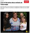 Lien vers l'article de presse de l'Est Républicain du 31 août 2017 : Lisa et Christina deux enfants de Tchernobyl