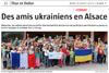 Lien vers l'article de presse de l'Alsace du 18 juillet 2017 : Des amis ukrainiens en Alsace