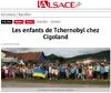 Lien vers l'article de presse de l'Alsace du 26 juillet 2017 : Les enfants de Tchernobyl chez Cigoland