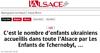 Lien vers l'article de presse de l'Alsace du 27 juillet 2017 : 115, c'est le nombre d'enfants ukrainiens accueillis dans toute l'Alsace par Les Enfants de Tchernobyl, ...