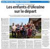 Lien vers l'article de presse des DNA du 27 juillet 2017 : Les enfants d'Ukraine sur le départ
