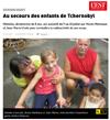Lien vers l'article de l'Est Républicain du 28 juillet 2017 : Au secours des enfants de Tchernobyl