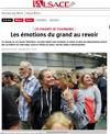 Lien vers l'article de presse de l'Alsace du 31 juillet 2017 : Les émotions du grand au revoir